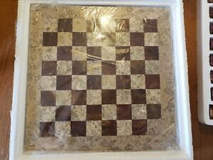 Stone Chess Set Standard Size