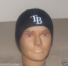 Tampa Bay Rays Baseball Blue Beanie Winter Hat New with Tags Free Shipping MLB