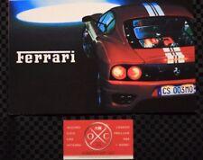 Japanese Ferrari Maserati Brochure Challenge Stradale 360 575M 456 Trofeo Spyder