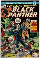 JUNGLE ACTION #9 (NM-) BLACK PANTHER! 1st Baron Macabre Appearance! 1974 Marvel