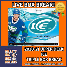 2020-21 UPPER DECK ICE (x3) TRIPLE HOBBY BOX BREAK #165 - PICK YOUR OWN TEAMS!
