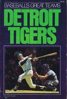 Baseball's Great Teams Detroit Tigers 1975 Softcover Book Joe Falls