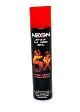 Neon 5X Butane 300ML Fuel Single - Premium Univerasl Gas Lighter Refill NEW