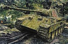 Heller 1:35 (81162): Panzerkampfwagen Panther A