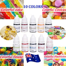 10 Colors Dyes Soap Making Coloring Set Liquid Kit Colorants for DIY Bath Bomb B