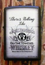 JACK DANIELS THERE'S NOTHING LIKE ZIPPO LIGHTER FREE P&P FREE FLINTS