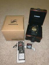 BNIB CASIO G-SHOCK GWF-1000B-1JR FROGMAN Watch Rose Gold with treasure box