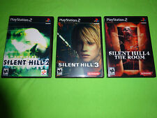 Empty Replacement Cases!  Silent Hill 2 3 4 The Room Sony PlayStation 2 PS2