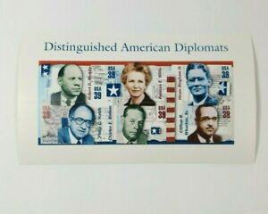 2006 American Diplomats Sheet 6 Stamps USPS UNHINGED UNUSED