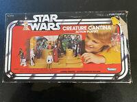 Star Wars Creature Cantina Action Playset With Original Box - Kenner - Used
