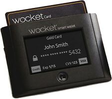 Wocket Smart Wallet Brand New in Box from DudeIwantThat Retailed $150