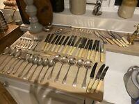 Antique Vintage Flatware Cutlery Quantity