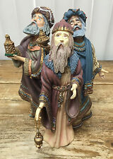 Duncan Royale Le History Christmas Santa Claus Ii Magi 1985 Figurine Wise Men