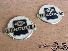 NEU* 2 x Hercules Oldtimer Tank Plakette Sticker Emblem Plakette Aufkleber