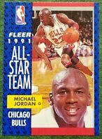 1991 Fleer Michael Jordan #211 Basketball Card