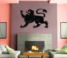 Wall Stickers Vinyl Decal Heraldic Lion Animal Tiger ig210