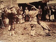 ANTIQUE CHINA BOXER REBELLION QING DYNASTY EXECUTION BEHEADING RARE DEATH  PHOTO