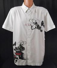 New Calvin Klein Casual Shirt Short Sleeve Button Up Mens Size Large NWT $59