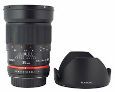 Rokinon 35mm F1.4 Wide Angle Lens for Micro Four Thirds Camera - RK35M-MFT