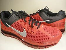 Nike Air Max+ 2013 Gym Red Reflect Silver Black SZ 14 (554886-602)
