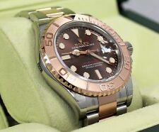 ROLEX Yacht Master 116621 40mm Chocolate Dial Steel/18K Everose Gold Watch *NEW*