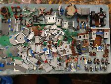 Lego Minifigure, Castle, Fort, Siege about 2kgs Lot 3