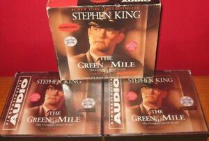 STEPHEN KING The Green Mile DEPRESSION ERA Prison Novel UNABRIDGED CD Audiobook