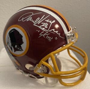 🏈 HOF Darrell Ray Green Autographed 🏈 Washington Redskins Mini Helmet 🏈