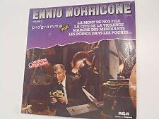 LP 33 tours ENNIO MORRICONE VOL°3 PROGRAMME PLUS V.O  REED.1985 RCA 824 093-1