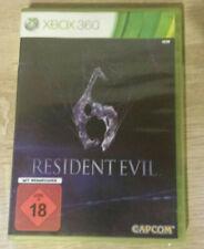 Resident Evil 6 {Xbox360,2012,DVD-Box} Im guten Zustand!