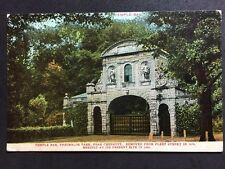 Vintage Postcard - Huntingdonshire #A1- RP Temple Bar, Theobolds Park Chesnut 06