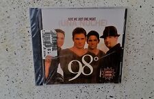 FACTORY SEALED! Give Me Just One Night [CD] [Single] by 98° LIMITED EDITION