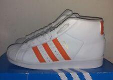 half off eea97 96ea9 White and Orange Adidas Superstar. Size 7 · Blanco y Naranja Adidas  Superstar.