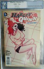 Harley Quinn #1 PGX 9.6 NM+ DC~Batman~Adam Hughes~Chad Hardin Rare HTF 1:25