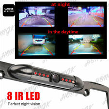 170° Viewing Angle Universal Car License Plate Frame Mount Rear View Camera