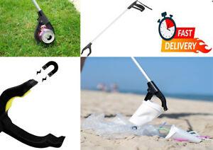 76x Cm Litter Picker Tool Rubbish Debris Pick Up Long Mobility Reach UK