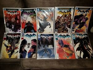 DC COMICS LOT: BATMAN #71-80  (2019)