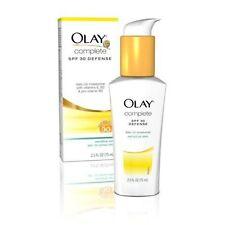 Olay Complete Defense Daily UV Moisturizer SPF 30 Sensitive Skin 2.5oz