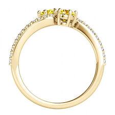 1.24 Carat Yellow Vs2-Si1 Diamond Solitaire Engagement Ring 14k Yellow Gold