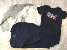 Lot of 4 Boy Body Suits, Carters & Gymboree - 18M