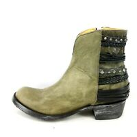 Mexicana Boots Damen Schuhe Stiefeletten Hippiton Leder Größe 39 Np 539 Neu