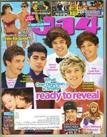 J-14 Magazine March 2013 One Direction Harry Niall Zayn Liam Louis Selena Justin