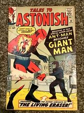 Silver Age Tales to Astonish #49 Comic Book Mid-Grade 1963 1st Giant Man