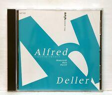 ALFRED DELLER - MONTEVERDI PURCELL BACH DOWLAND cantatas INA MEMOIRE VIVE CD NM