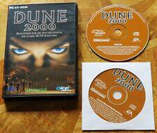 Dune 2000 (PC CD-ROM) 2 Disks - V.G.C.