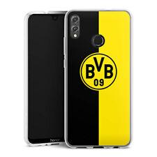 Huawei Honor 8X Silikon Hülle Case - BVB Schwarz / Gelb