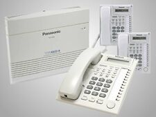 Panasonic KX-TA824-T7730PK3 (KX-TA824, 3 KX-T7730) Packages White Brand New!