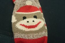 MONKEY NON SKID SLIPPER SOCKS….FLEECE LINED...LADIES SOCK SIZE 9-11
