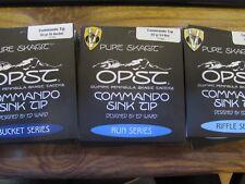 OPST PURO skagit Commando 7.5 piedi 60Gr lavello suggerimenti Secchio Run & FUCILE SERIE