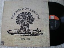 TRAFFIC lp JOHN BARLEYCORN MUST DIE UNITED ARTISTS UAS 5504 STEREO A2 STERLING